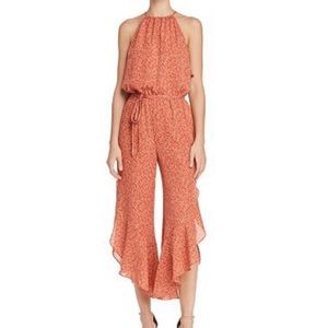 NWOT Joie Jael Silk Jumpsuit in Cinnamon
